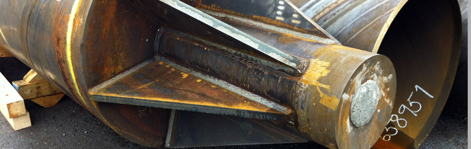 Steel tube piles | Solutions - Kynningsrud Foundations