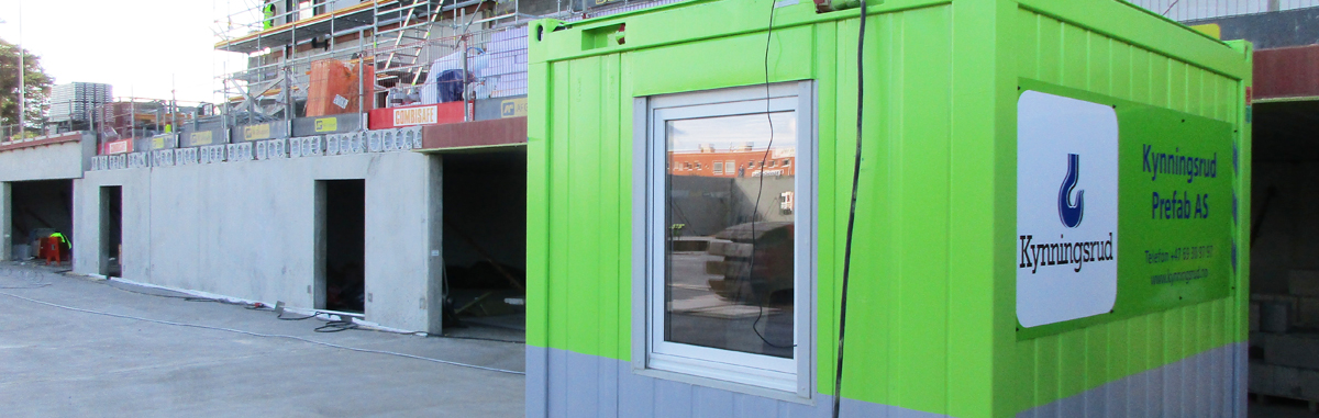 Mobile office containers streamline construction sites