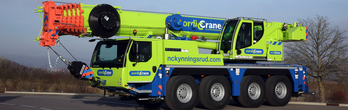 New cranes delivered to NC Kynningsrud AB